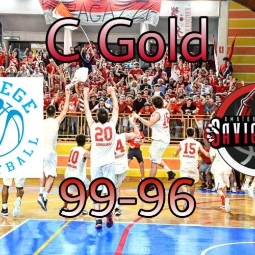 C Gold: l'overtime ci condanna alla sconfitta!