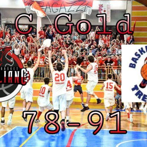 C Gold: tre quarti non bastano!