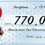 Una grande zampa per la San Vincenzo!